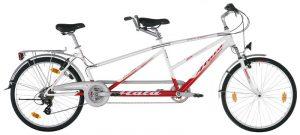 Atala tandem bike rent in Milan