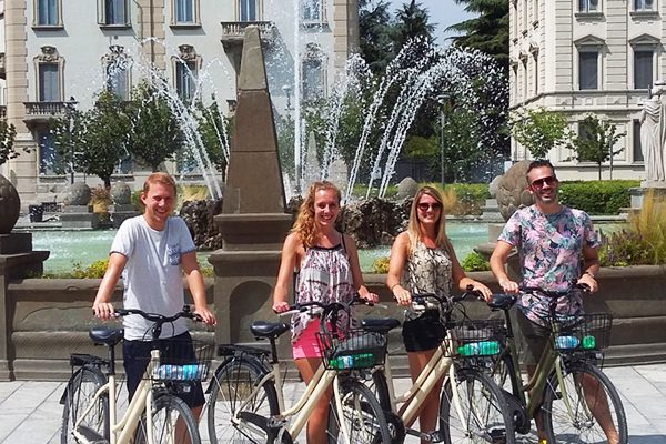 Milan by bike tour
