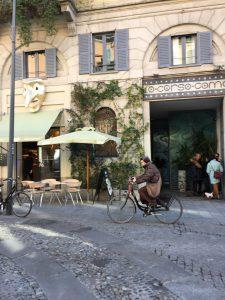 Milan cycling lanes
