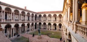 art gallery of Milan